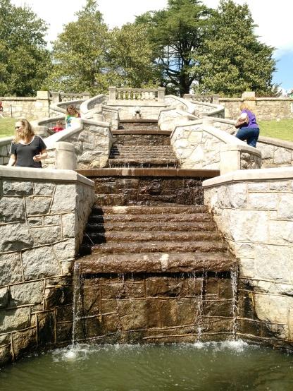 Waterfall at the Italian Garden