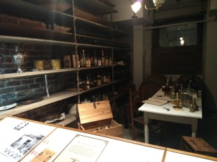 Wine and Liquor room