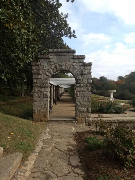 Italian Garden Archway