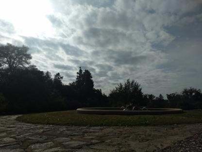 winter in the Italian garden